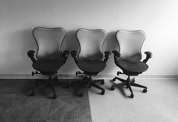 office roller chairs used