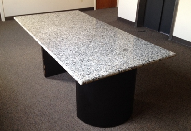 used marble conference table