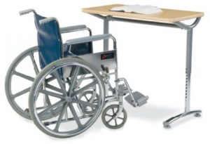 wheelchair ada student desk Indianapolis