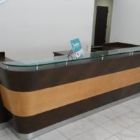 Yushiro reception desk