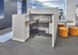 collaborative-cubicles-office-desks-indianapolis-NeoCon-Showroom